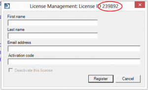 LicenseID